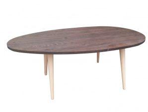 """Τραπέζι σαλονιού """"KING"""" σε χρώμα καστανιά 98x60x39"""