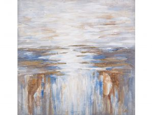 """Πίνακας από καμβά """"ΘΑΛΑΣΣΑ"""" 80×80"""