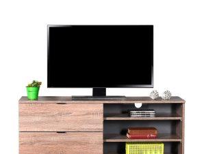 Έπιπλο τηλεόρασης σε χρώμα latte 120x35x48