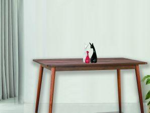 """Τραπέζι """"VICTORIA"""" σε χρώμα καφέ 120x80x74"""