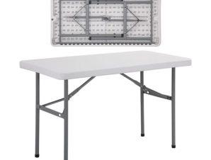 """Τραπέζι συνεδρίου """"BLOW"""" πτυσσόμενο σε λευκό χρώμα 122x60x74"""