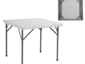 """Τραπέζι συνεδρίου """"BLOW"""" πτυσσόμενο σε λευκό χρώμα 86x86x74"""