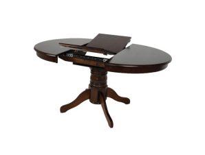 """Τραπέζι επεκτεινόμενο """"NIRVANA"""" σε καρυδί χρώμα 106(+30)x75"""