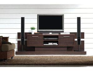 """Έπιπλο τηλεόρασης """"ANALOG"""" σε χρώμα βέγγε 210x50x65"""