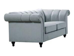 """Καναπές διθέσιος υφασμάτινος """"OXFORD"""" σε χρώμα καπουτσίνο 171x86x79"""