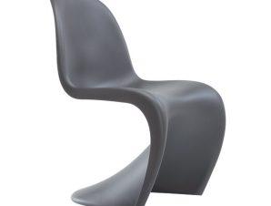 """Καρέκλα """"BLEND' πολυπροπυλενίου σε γκρι χρώμα 50x58x85"""