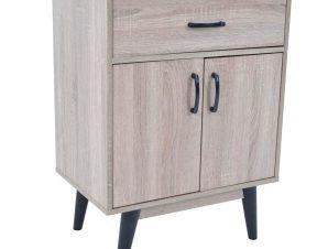 Ντουλάπι με συρτάρι σε χρώμα σονόμα 60x40x80