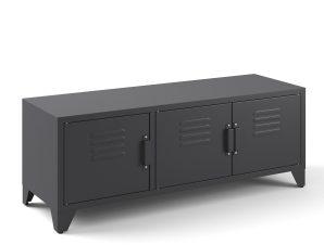Έπιπλο τηλεόρασης με 3 πόρτες Hiba