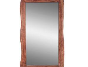Καθρέπτης ξύλινος-ακακία σε φυσικό χρώμα 80x142x4