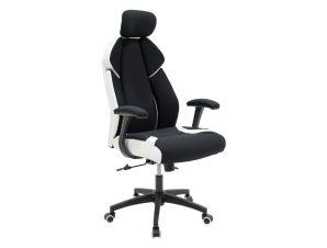 """Πολυθρόνα διευθυντή """"MOMENTUM"""" από ύφασμα mesh σε χρώμα μαύρο 60x65x120/129"""