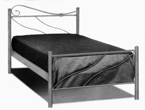 Κρεβάτι Σιδερένιο Μονό 395 – Β – 3-395