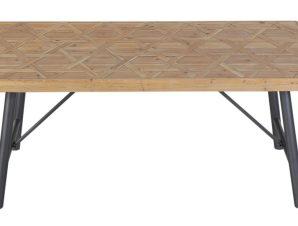 Τραπέζι Μεταλλικό – Ξύλινο 180x90x75εκ. ESPIEL DIL103 – ESPIEL – DIL103