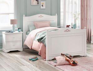 Παιδικό κρεβάτι ημίδιπλο RU-1303