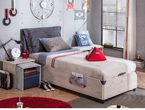 Παιδικό κρεβάτι με αποθηκευτικό χώρο TR-1705 USB CHARGING